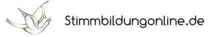 Stimmbildung Online - maximales Stimmpotenzial entfalten!