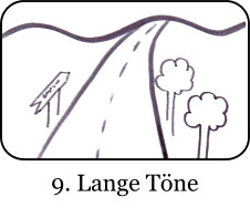 lange Töne aushalten