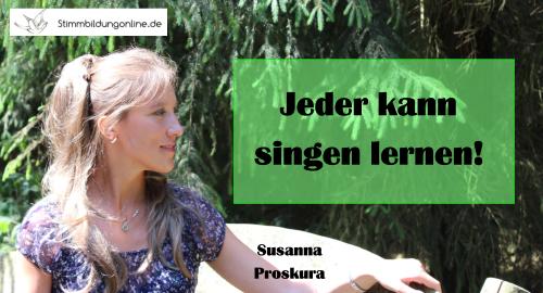 Singen lernen 2